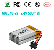 7.4V 500mAh 25c voor rc quadcopter helicopter jjrc h8c DFD F183