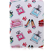 Lipstick Perfume  Pattern stents  Case for iPad Air 2