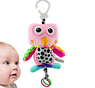 2015 New Design Baby Music Toys Cute Cartoon Owl Stuffed Toy for Children