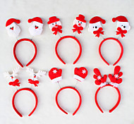 New Child and Adult Headwear Santa Christmas Decration Head Band for Christmas Party New Gift Xmas