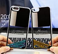 maycari®charming chiodo sabbie polacco modello stella pc trasparente posteriore Case for iPhone 6 6s / iphone (colori assortiti)