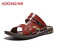Aokang® Men's Leather Sandals - 141723068