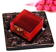 ALL BLUE High Quality Skin Whitening Soap Moisturizing Hydrating Rose Essential Oil Soaps Facial Soaps
