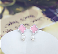 Cute Sterling Silver Stud Earrings