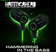 Original Hammerhead metal HiFi headset stereo Noise Isolation Bass Gaming Headset monitor headphones for Samsung S6