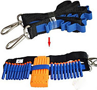 Compatible with Nerf Gun Pistol Soft Bullet Clip Straps Elite Series Accessories Toy Kit Shoulder Girdle Belt