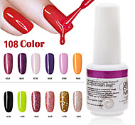 1PCS 9ml UV Color Gel Phototherapy Glue Nail Polish85#90#  43#-48#