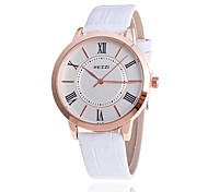 Woman's Watches Fashion Rome Literal Strap Watch