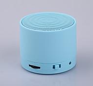 s10metal tragbare Mini-Bluetooth Lautsprecher w / handfree mic + tf-Kartensteckplatz, Stereo-Lautsprecher für Laptop / PC / MP3 /