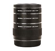 kooka Metall af Makro Verlängerungsrohre kk-O68 für Olympus OM 4/3 (12 mm 20 mm 36 mm) SLR-Kamera-Objektiv Nahaufnahmen