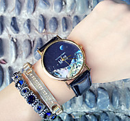 Mars topography,Moon,Peak patternLeather Watch,Ladies Watch ,Men's Watch,Gift for Her, Gift Idea