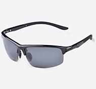 Cyclisme / Pêche / Lunettes de vision nocturne / Masque de protection hommes 's Polarisée / 100% UV Rectangle Lunettes de Sport