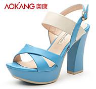 PU sandales femmes aokang® - 132811240