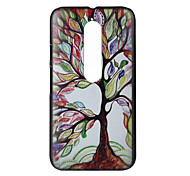 Color Tree Pattern PC Hard Cover Case for Motorola MOTO G3 3rd Gen