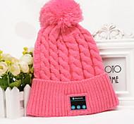 girls Winter Warm Beanie Hat Bluetooth Smart Cap Headphone Headset Speaker Music Mic