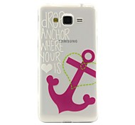 Anchors Pattern TPU Soft Phone Case for Samsung Galaxy J2/J5/G360/G530