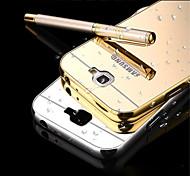 Für Samsung Galaxy Note Spiegel Hülle Rückseitenabdeckung Hülle Einheitliche Farbe Metall Samsung Note 5 / Note 4 / Note 3 / Note 2