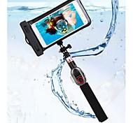 ashutb mais novo conjunto impermeável bastão de selfie kit-s6wp