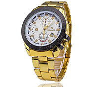 Men's Watch Steel Tape Three Single Calendar Business Ccasual Watches