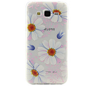 Sunflower Pattern TPU Phone Case for Samsung Galaxy J2/J5/G360/G530