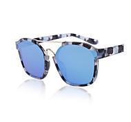 100% UV400 Wayfarer Fashion Mirrored Sunglasses