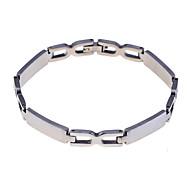 Fashion Men'S Xman Shape Titanium Steel Bracelet