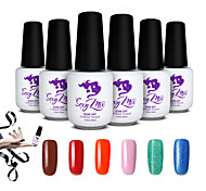Sexy Mix UV Gel Transparent Builder Set Glue False Tips Nail UV Gel Accessories Nail Tools