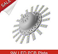Luces de Techo Decorativa 8A Lighting 9 W 45 SMD 2835 900 LM Blanco Cálido AC 85-265 V 1 pieza