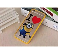 New Fashion Christmas gift Cartoon Cute PC Mobile Phone Case for iPhone6/6s