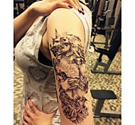 Tattoo Stickers - Tatuajes Adhesivos - Navidad / Año Nuevo - Series de Animal / Series de Flor - Bebé / Mujer / Hombre / Adulto - Negro -