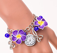 L.WEST Fashion High-end Restoring Ancient Ways Flower Bracelet Quartz Watch Cool Watches Unique Watches