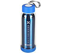 450ml Stainless Steel Water Bottle Sports Cups Kettle Plastic Cups Portable Outdoor Leakproof Couple Bottle