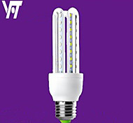 Yifeite E27 B22 9W 48XSMD2835 3600LM 6000K Cool White And Warm White 3000K Light LED Corn Bulb (AC 220V)