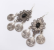 European And American Fashion Flowers Temperament Wild Fashion Earrings Wedding Jewelry