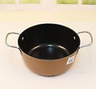 Titanium Color Coffee Pot Binaural Pot Thickening Korean Frying Pan