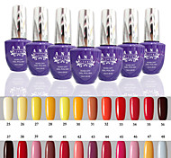 1 pcs ana 192 couleurs nail art gelpolish ongles en gel uv tremper hors de 15ml 25-48