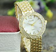 Ladies' European Style Fashion Classic Casual Rhinestone Watch Gift