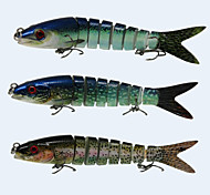 """Harte Fischköder 18.5 g / 5/8 Unze , 140 mm / 5-1/2"""" Zoll 3 pcsSeefischerei / Fliegenfischen / Köderwerfen / Eisfischen / Spinning /"""