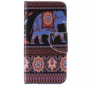 Tribal Totemmuster Handy Leder für iphone 6 / 6S