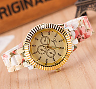 Woman Gold Stamp Wrist  Watch