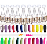 UV Gel Nail Polish (15 ml) Long Lasting Nail Varnish Gel Lacquer 96 Colors For Choose 73-96