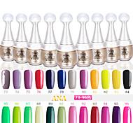 UVgelNagellack (15 ml) lang anhaltende Nagellack Gel-Lack 96 Farben für wählen 73-96