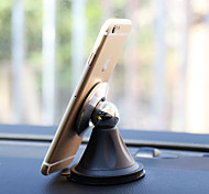 Magnetic Steelie Car Mount Holder with PU Stick for Samsung Galaxy Series Smart Phone/Apple/LG/Sony