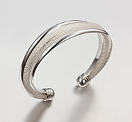 Fashion Noble Quality 925 Sterling Silver Bracelet Bangles Party Daily Bangles For Woman&Lady