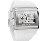 Masculino Relógio de Moda Digital Impermeável Plastic Banda Relógio de Pulso