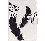 Feather Folio Leather Stand Cover Case With Stand for iPad Mini 3/2/1