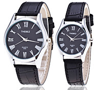 Couple's Watches Korean Minimalist Precision Waterproof Couple Watches