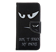 Smiling Face Pattern Card Stand Leather Case for iPhone 6/6S