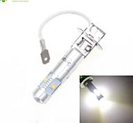 h3 PK22s Cree XP-E LED 25w 1600-1800lm 6500-7500K ac / dc12v-24 niebla blanca plata