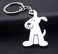 Beautifully Dog Keychain Metal Keychain Creative Cute Puppy Keychain